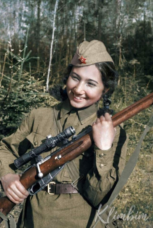 Women Snipers of the Red Army during the Second World War