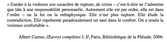 citation Camus