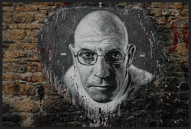Michel Foucault is watching you