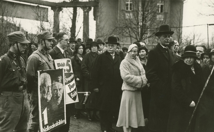 Elections parlementaires, Allemagne, 1933