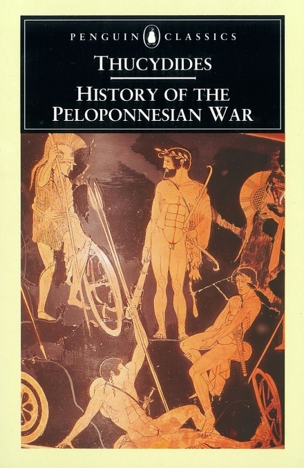 Thucydides, History of the Peloponnesian War, book cover