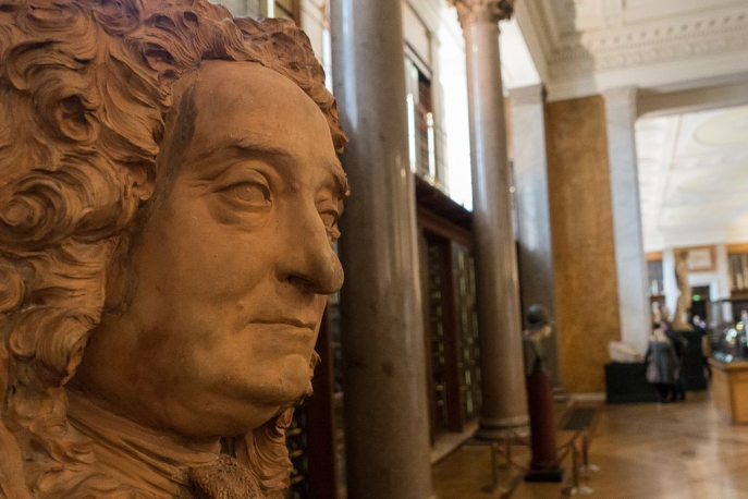 Hans Sloane dans l'Enlightenment Gallery