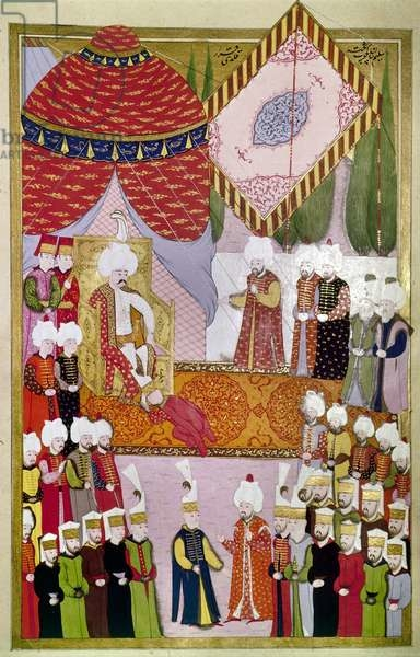 Coronation of Sultan Selim I