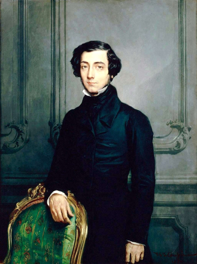 Théodore Chasseriau, Alexis-Charles-Henri Cléral de Tocqueville (1850)