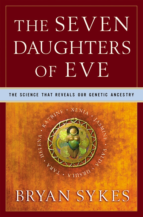 Couverture du livre The Seven Daughters of Eve de Bryan Sykes