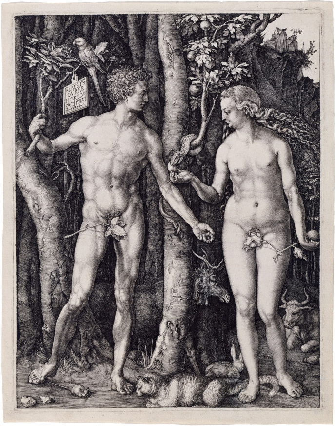 Albrecht Dürer, Adam and Eve (1504)