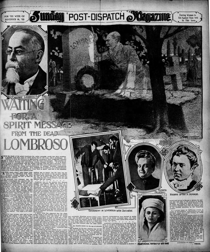 Sunday Magazine, 14 novembre 1909